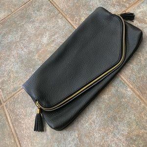 Sleek Black Clutch